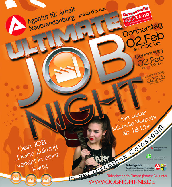 Ultimate Job-Nacht am 2. Februar 2017