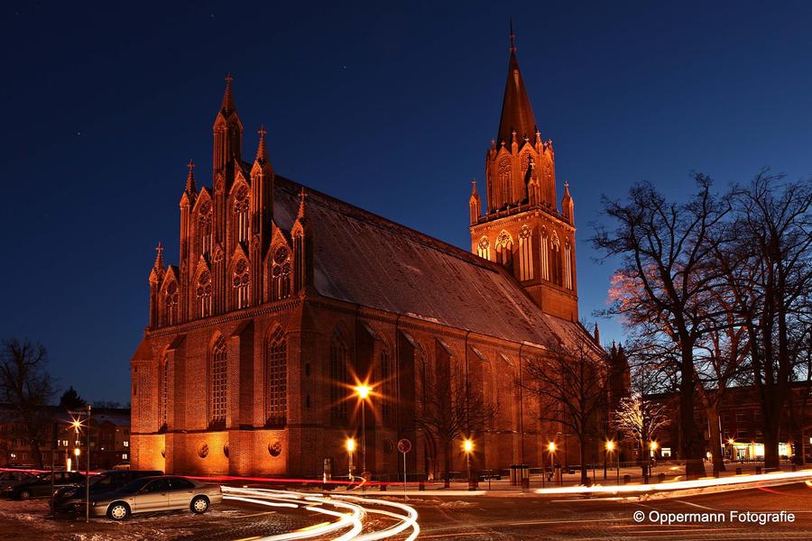 Konzertkirche Neubrandenburg Orgel
