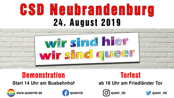 CSD in Neubrandenburg
